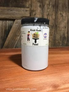 non-toxic-paint, pure home paint, gray chalk paint