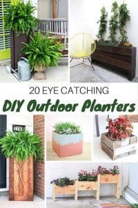 outdoor-planters, diy, gardening, outdoor planters