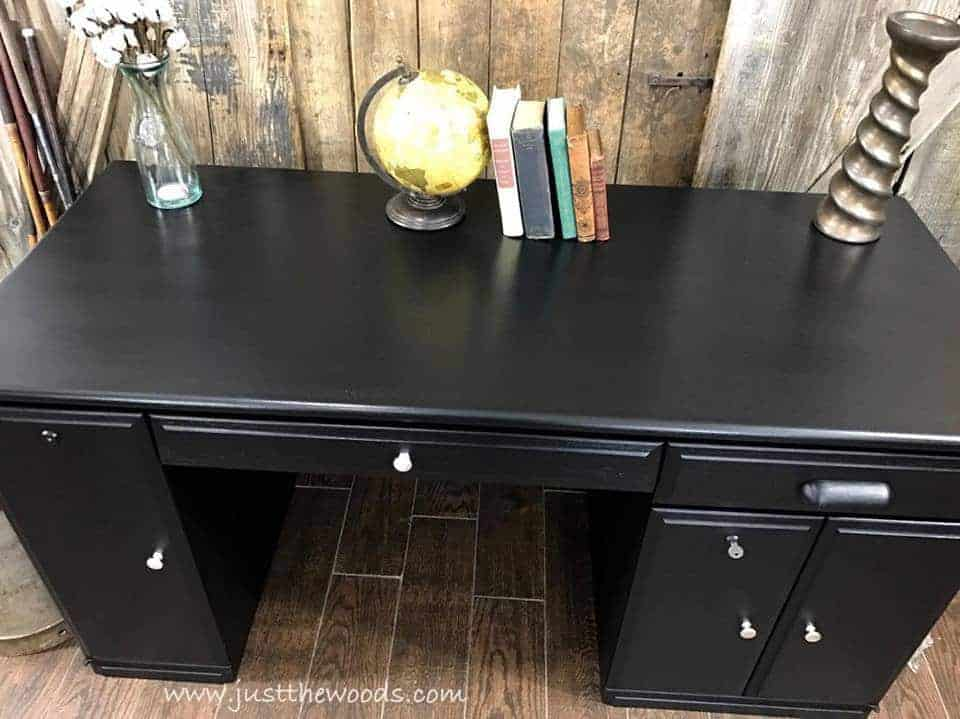 The Best Black Distressed Painted Furniture Makeovers by Just the Woods