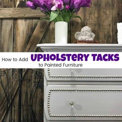 How to Make Your Furniture Extraordinary with Upholstery Tacks