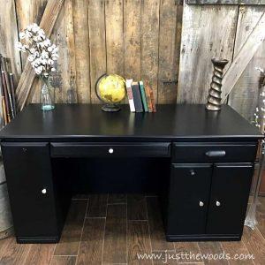 painted-furniture-staten-island, desk makeover, painted desk