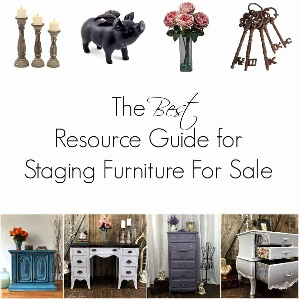 The Best Resource Guide for Staging Furniture For Sale / home decor / staging props