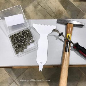 upholstery-tools, how to add upholstery tacks to furniture