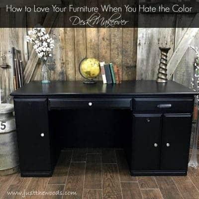 Modern Desk Makeover