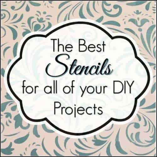 stencils, furniture stencils, diy stencils
