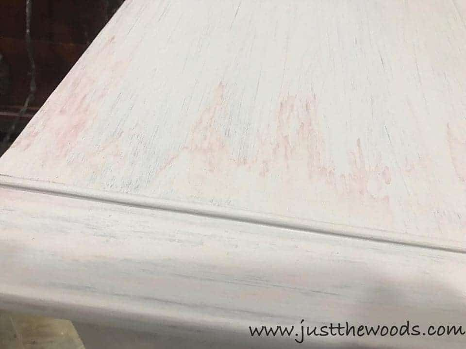 How to Stop Bleed Through Without Using Primer when Painting Furniture