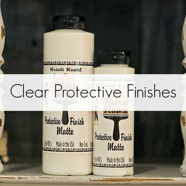 Clear Protective Finishes
