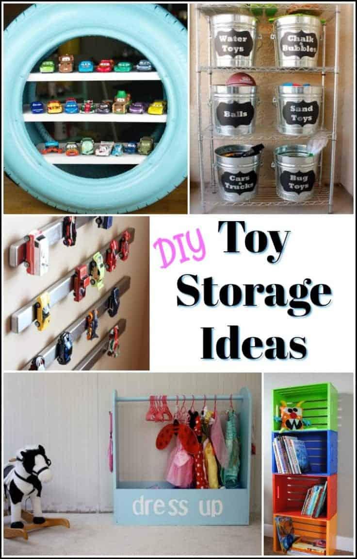 DIY toy storage ideas, toy organization ideas, toy organizer ideas, diy toy storage ideas, cheap toy storage