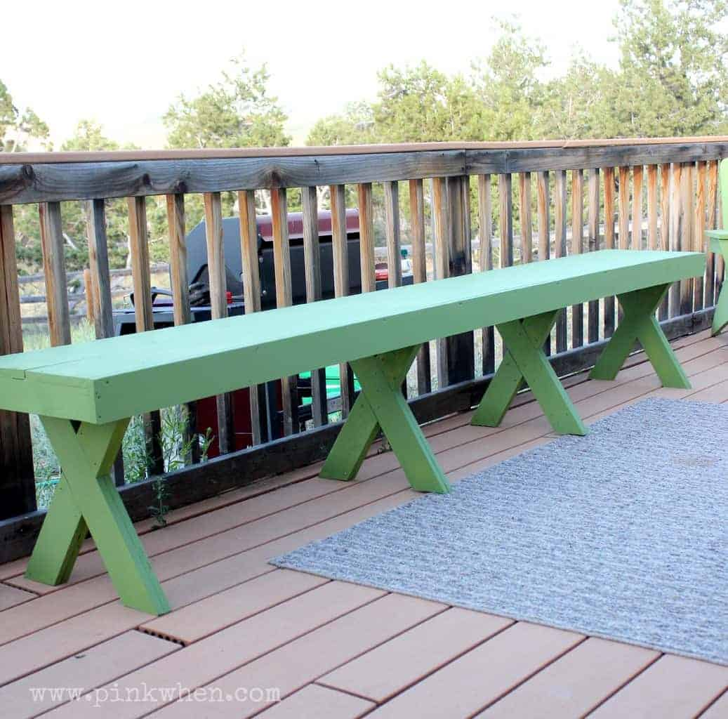 Build your own bench, upcycle an old headboard, repurposed a door into a bench, painted furniture this collection of repurposed, upcycled & DIY benches has it all.