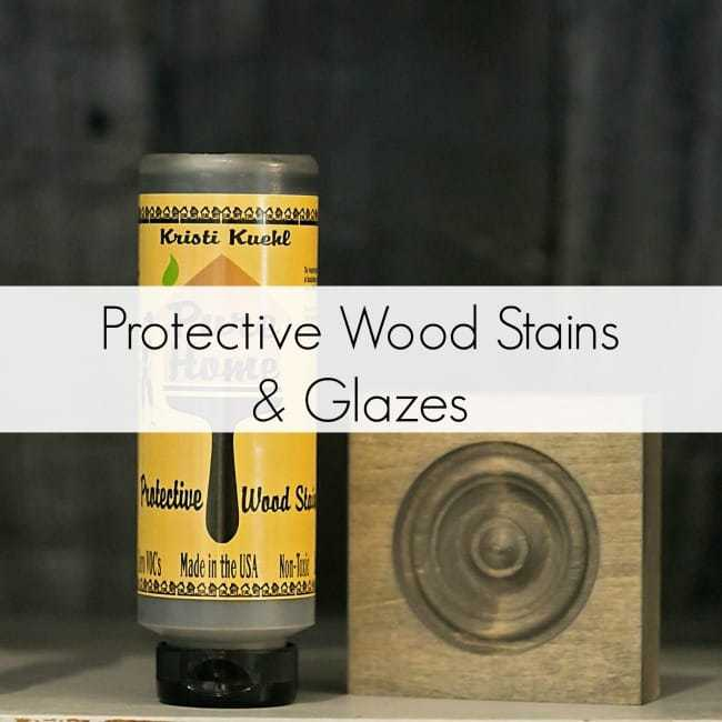 Protective Wood Stains & Glazes
