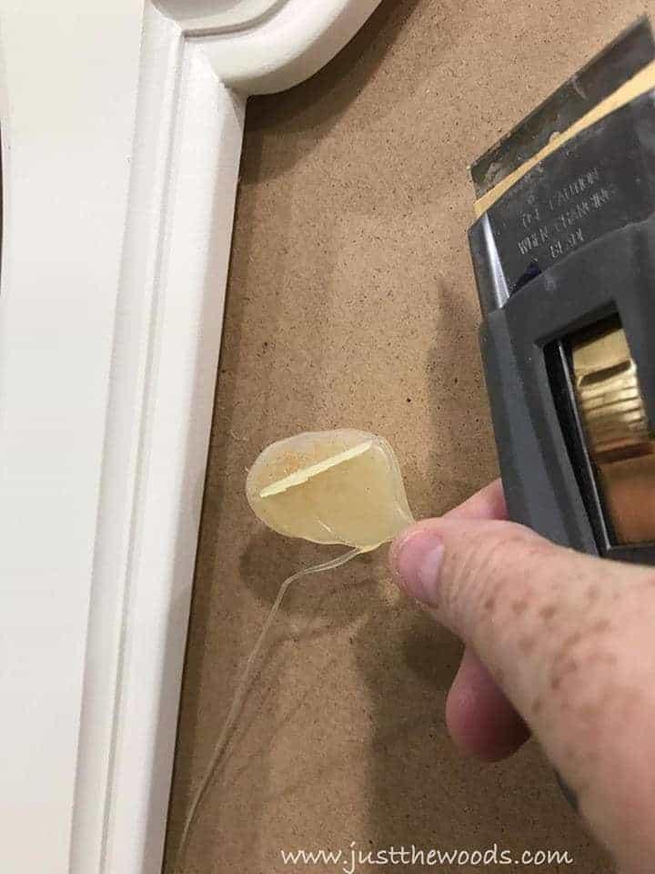 remove old glue