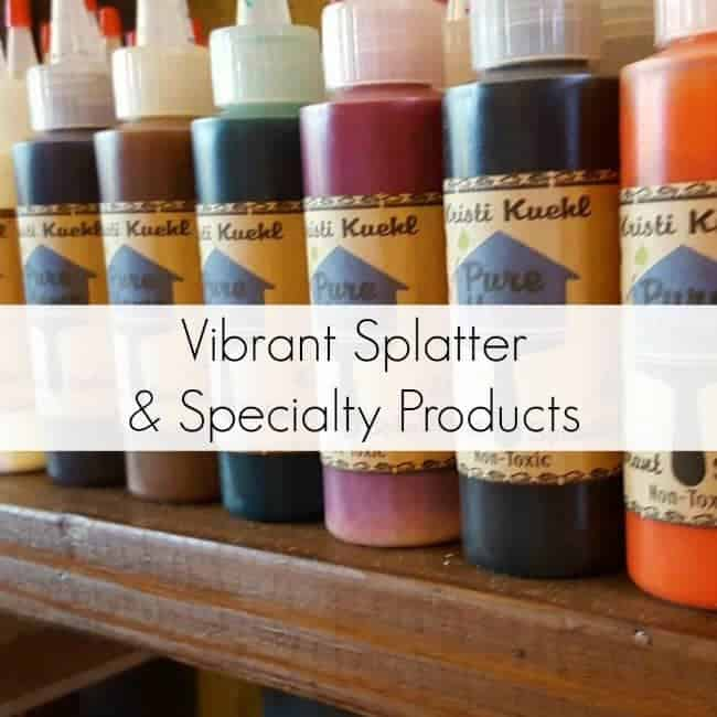Vibrant Splatter & Specialty Products