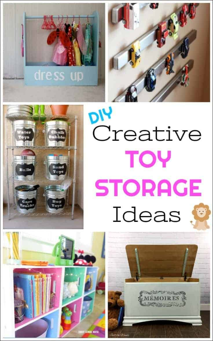 DIY Toy Storage Ideas Toys, Toy Boxes And Storage Ideas