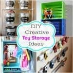 Creative DIY Toy Storage Ideas to Organize the Kids Mess