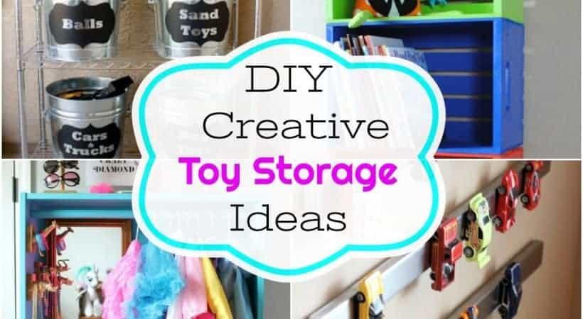 Creative DIY Toy Storage Ideas