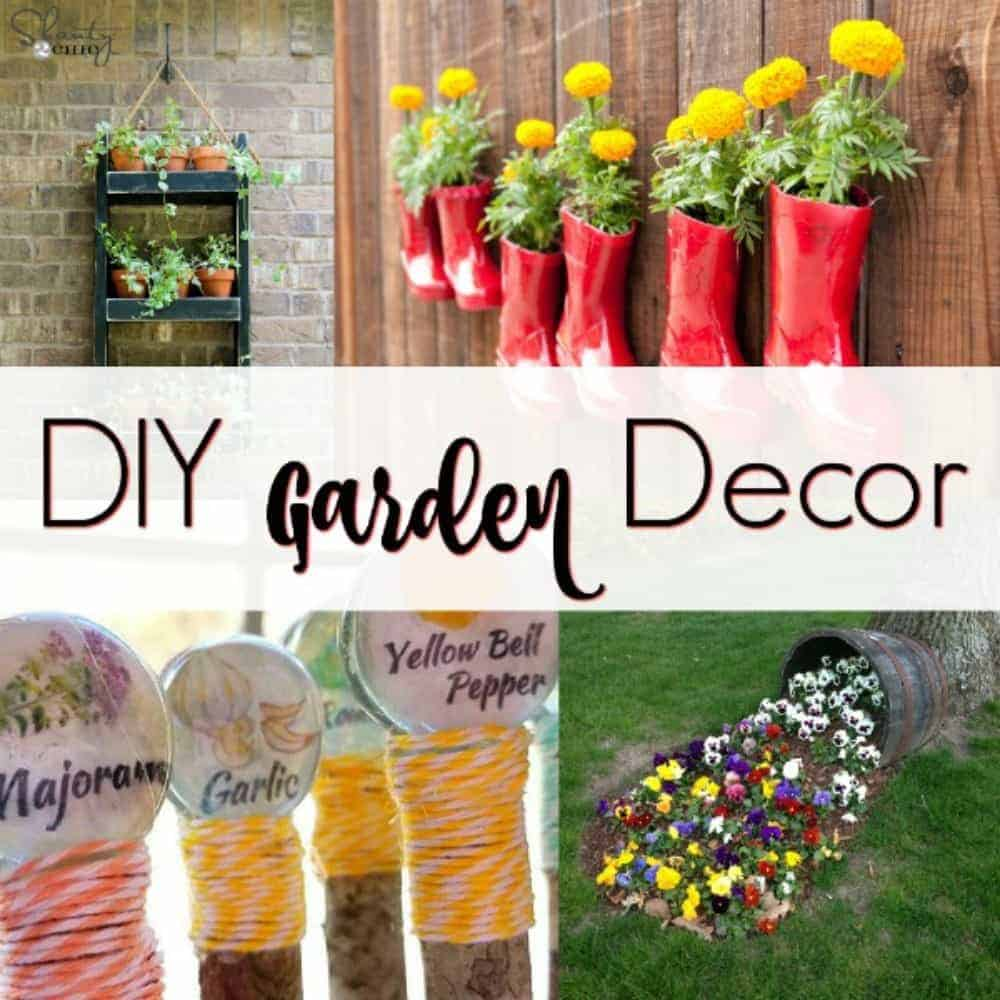 Awesome DIY Garden Decor for your Yard by Just the Woods on Backyard Garden Decor id=45442