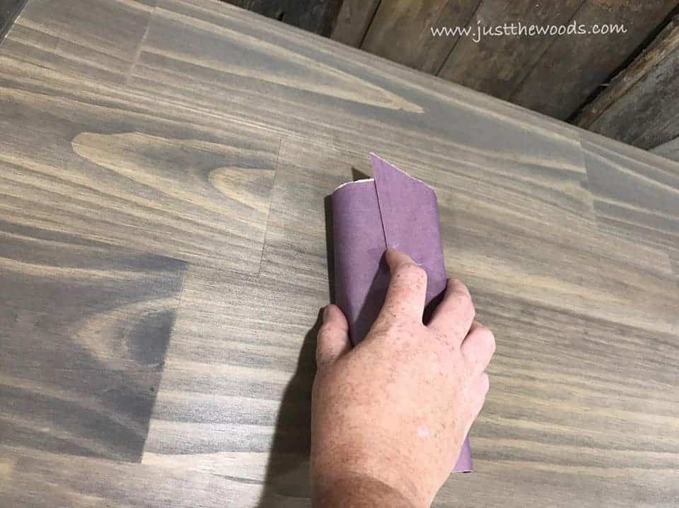 How to Build a New Table Top for Old Furniture, wood grain