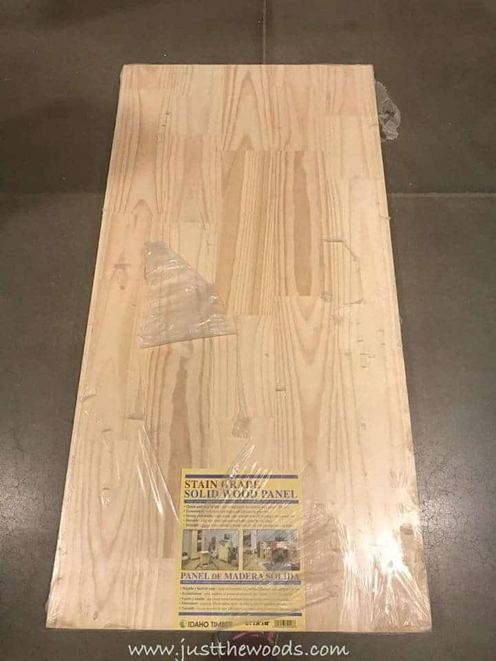 How to Build a New Table Top for Old Furniture, wood panel