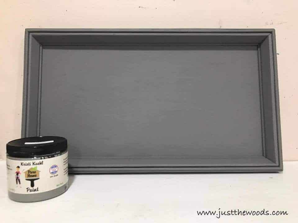 stone paint, gray paint, chalk paint, pure home paint, non toxic