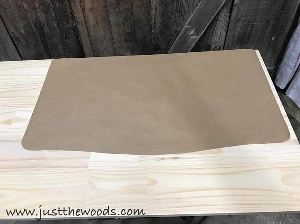 How to Build a New Table Top for Old Furniture, template