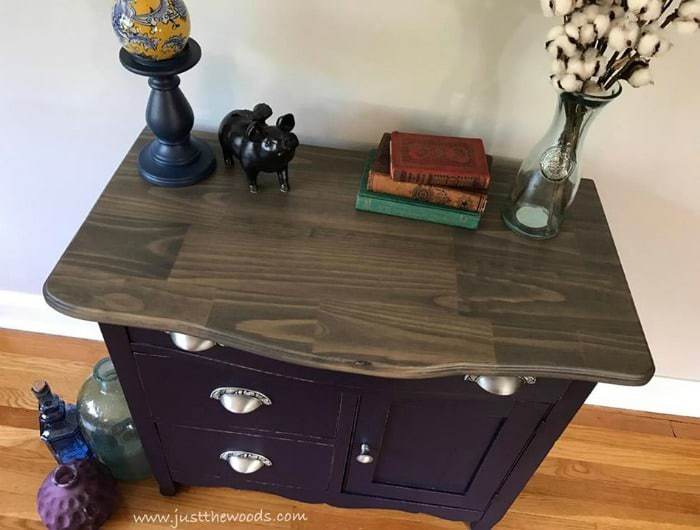 How to Build a New Table Top for Old Furniture / Just the Woods