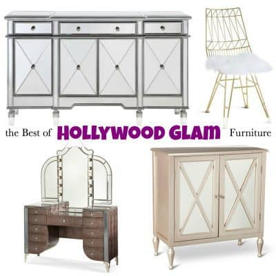 The Best of Hollywood Glam Furniture for your Home