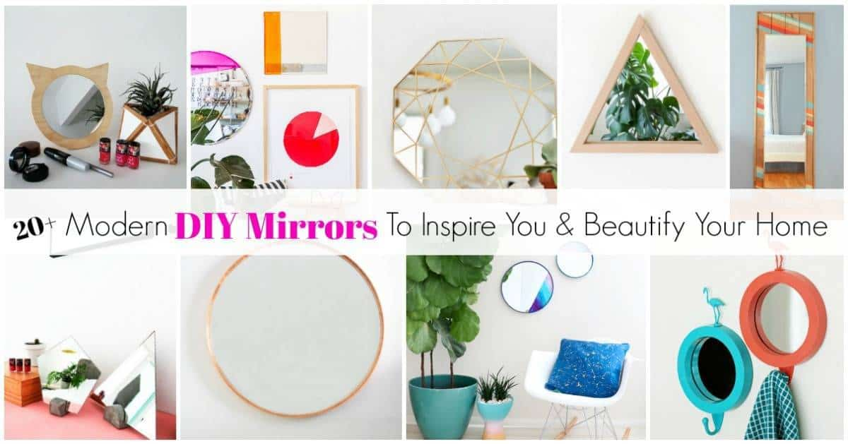 diy mirrors for your home