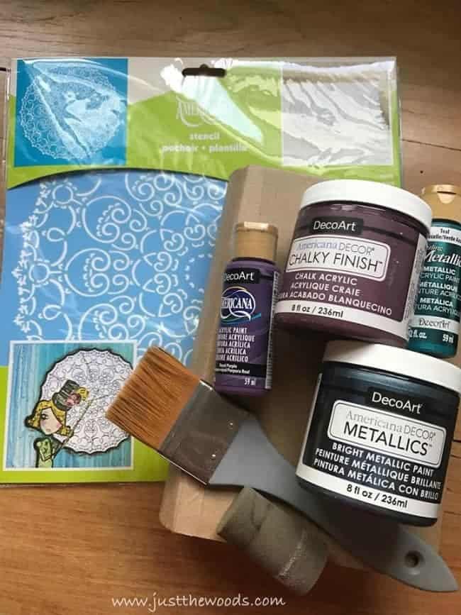 diy supplies, craft supplies, deco art, stencil