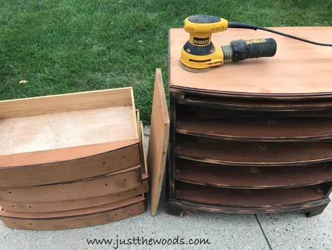 sanding wood furniture, dewalt electric drill, orbital