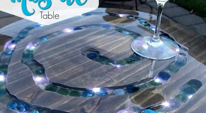 How to Make a Unique LED Mosaic Table