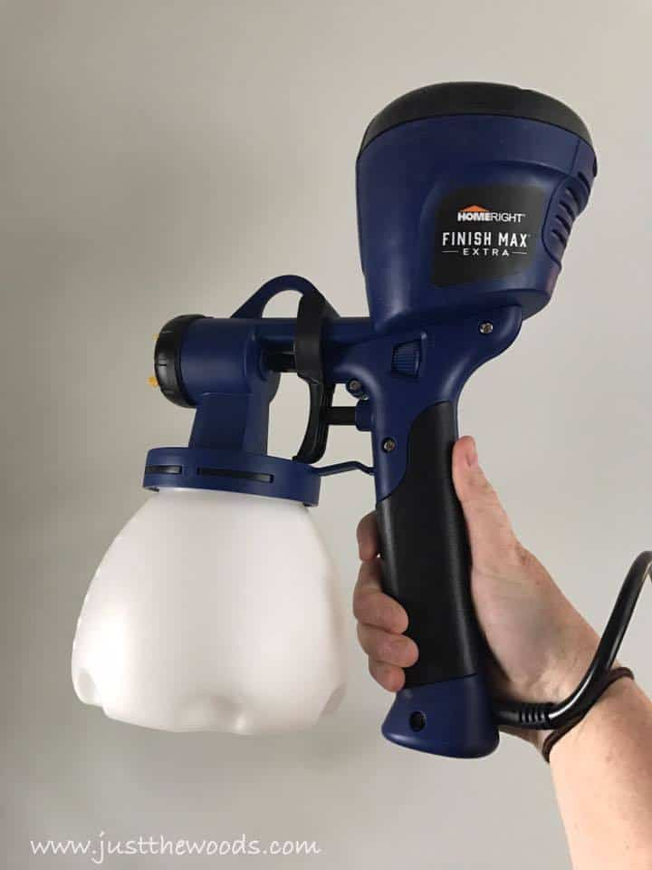 paint sprayer, chalk paint in paint sprayer