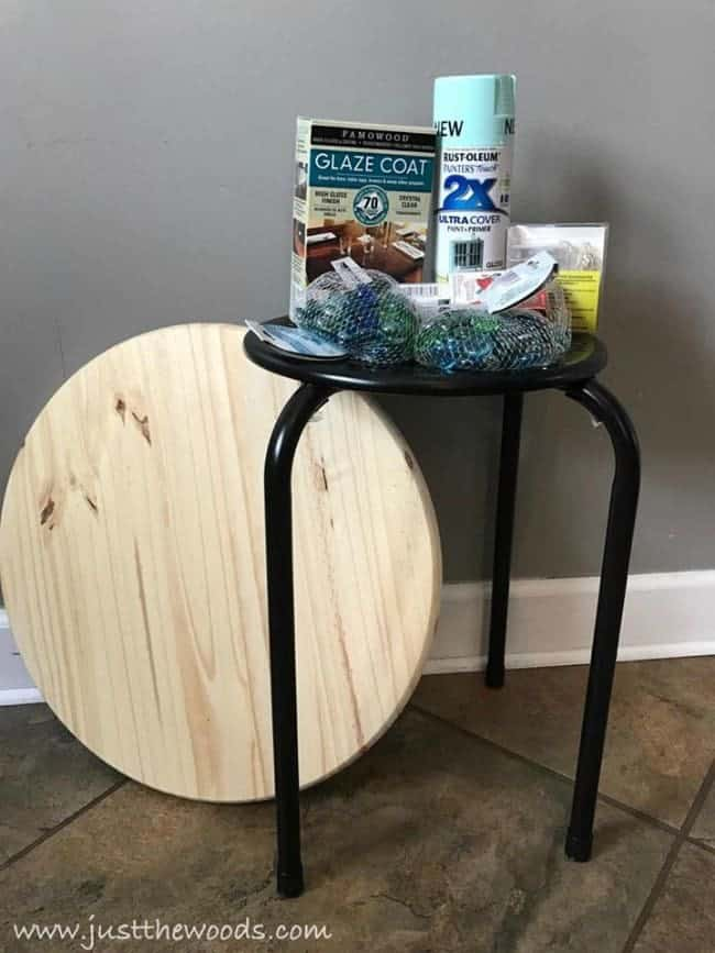 diy supplies, build a mosaic table