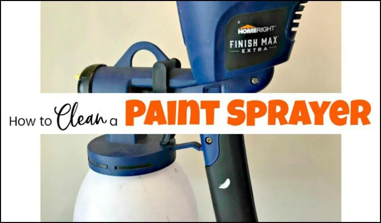 how to clean a paint sprayer, cleaning spray gun, clean paint sprayer, cleaning paint sprayer, easy to clean paint sprayer