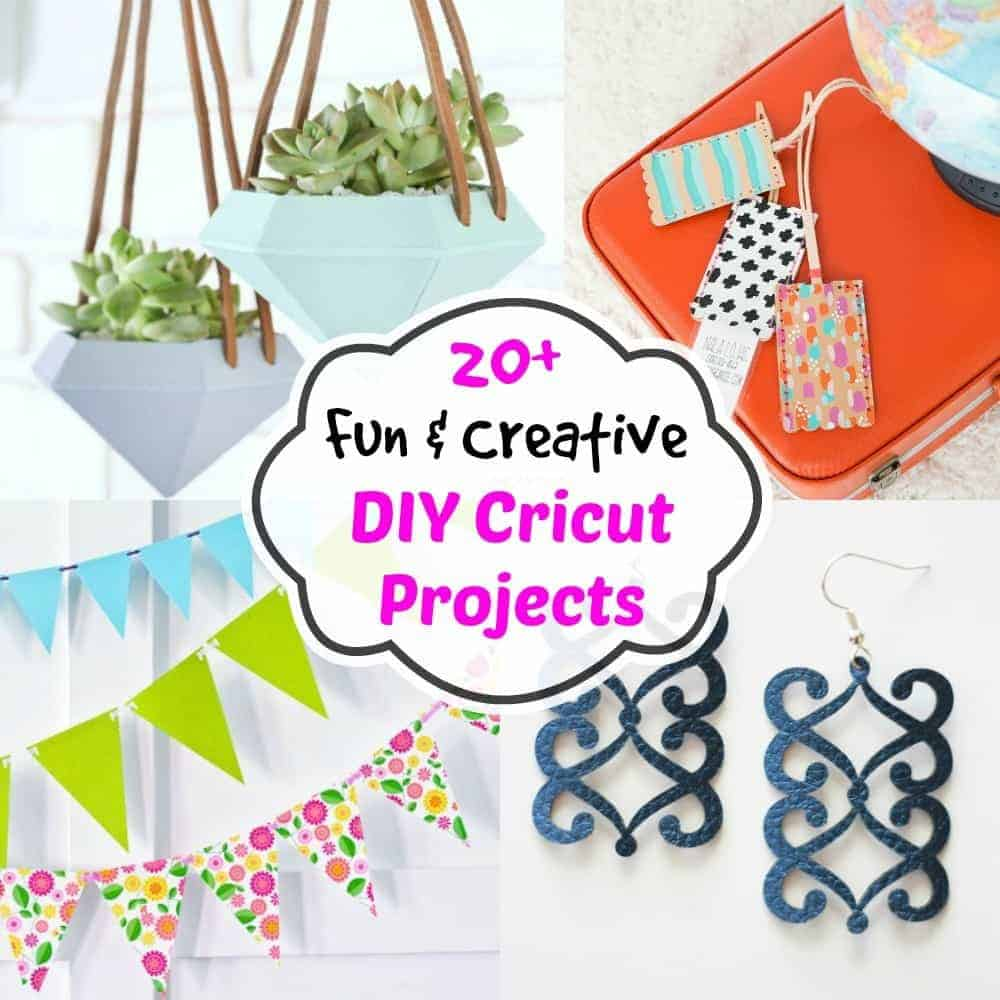 Creative Cricut And Vinyl Projects On Pinterest: Fun & Creative DIY Cricut Projects