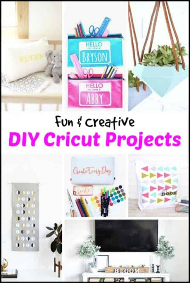 Fun & Creative DIY Cricut Projects - Not Just Stencils