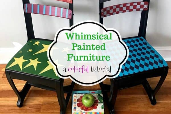 Whimsical Painted Furniture – A Colorful Tutorial You'll Love