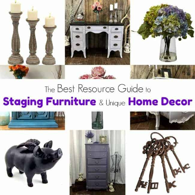 staging painted furniture, home decor