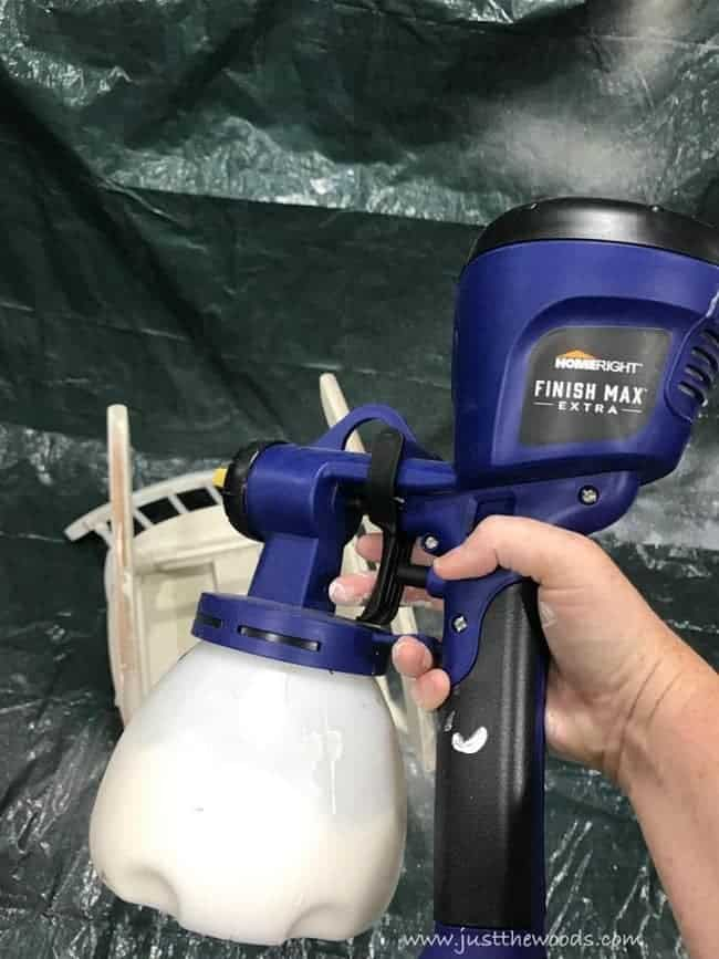 homeright paint sprayer, finish max, spray spindles