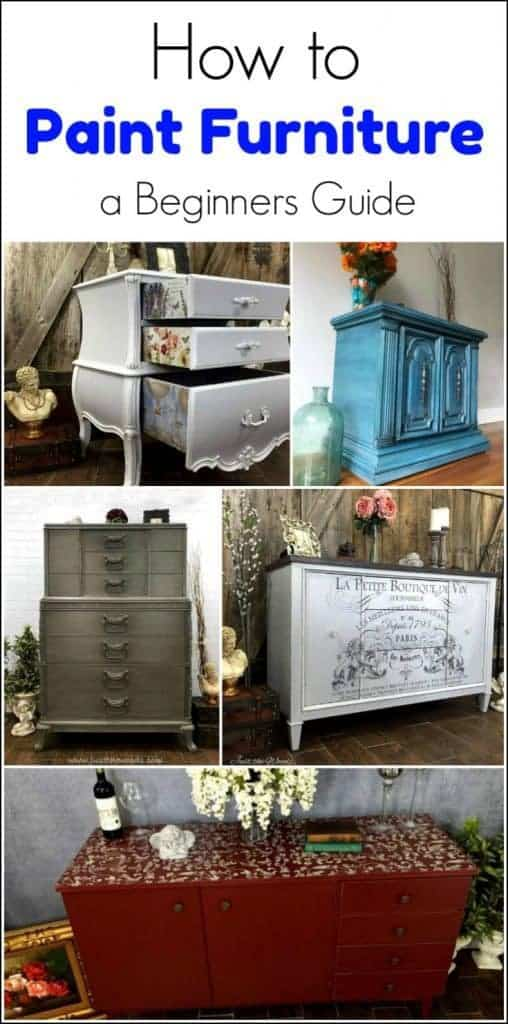 how to paint furniture, painted furniture tutorials, painting furniture
