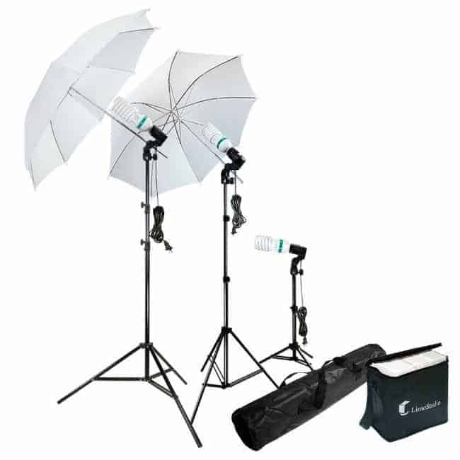 light kits, affordable lights for photography, photograph furniture