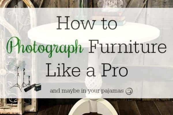 Secrets for How to Photograph Furniture Like a Professional
