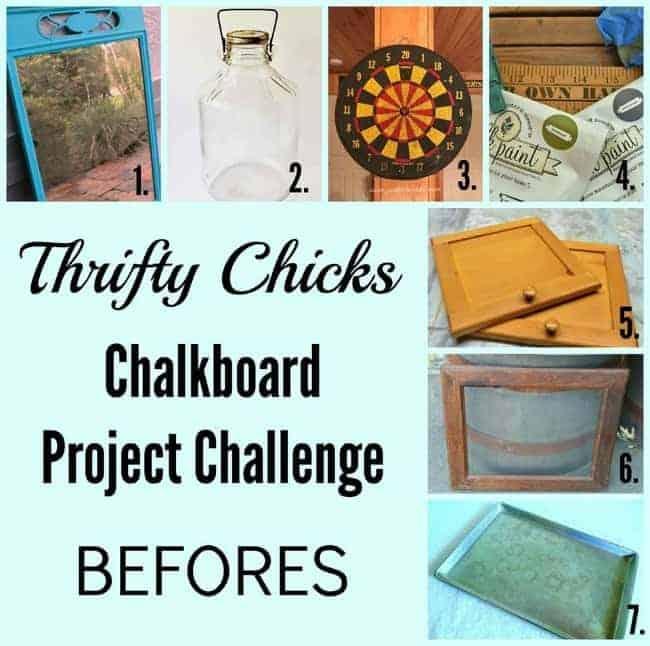 thirfty chicks chalkboard challenge