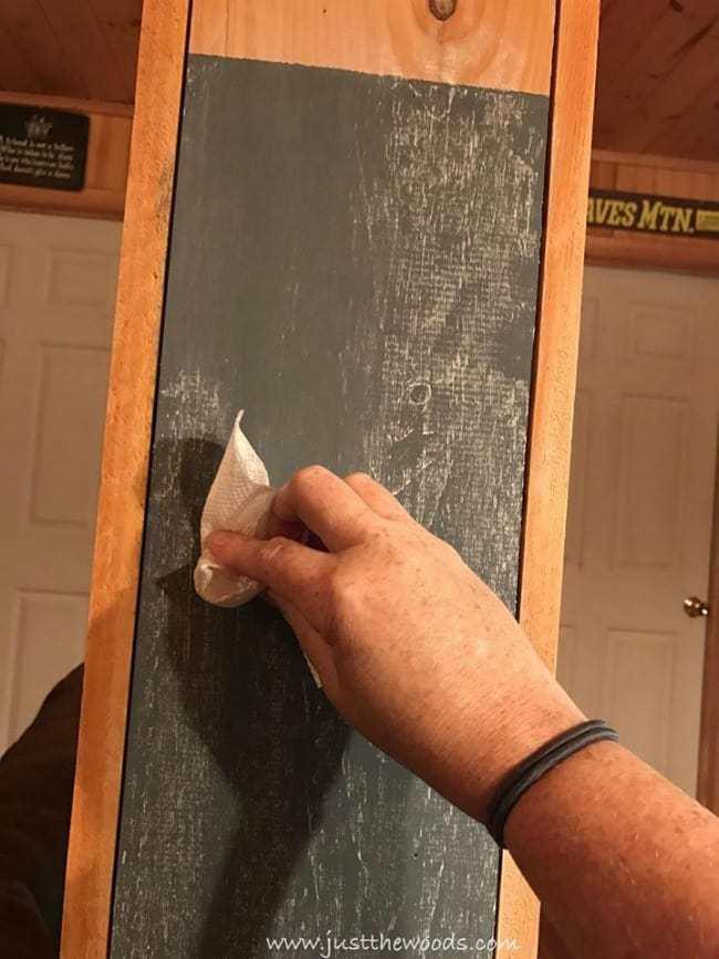 season chalkboard