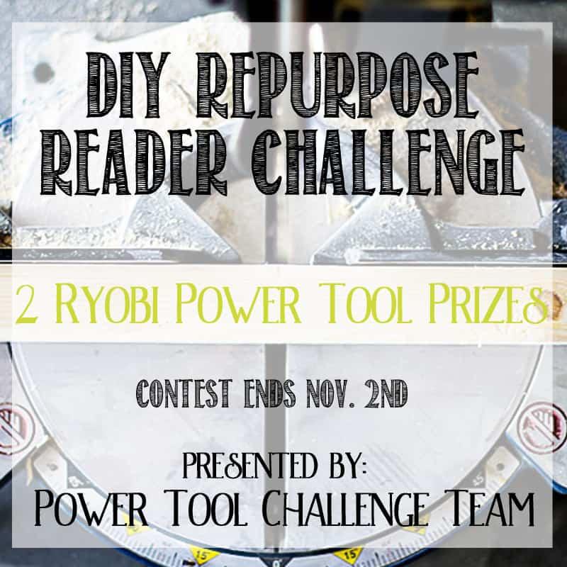 power tool challenge, ryobi, contest, diy
