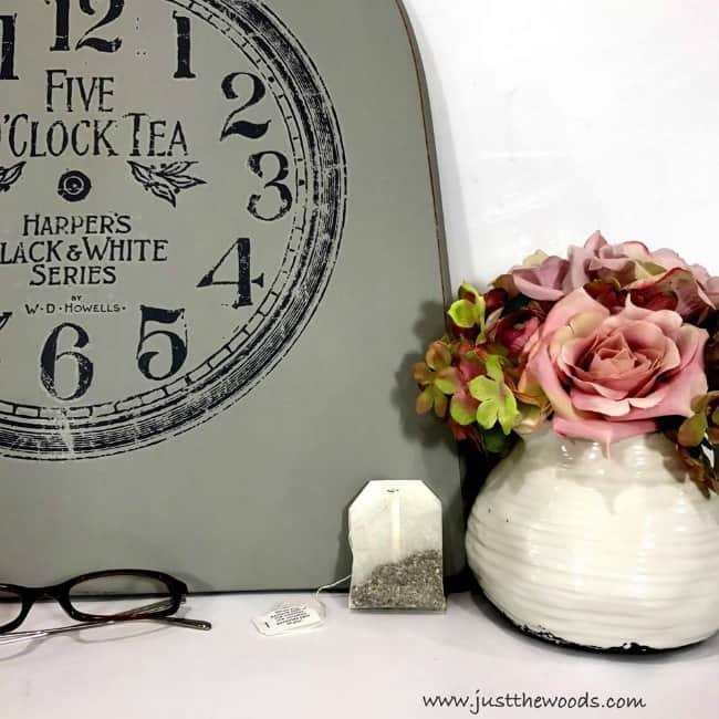 tea time image transfer, iod transfer, decor transfer, image transfer sign, prima marketing, image to wood
