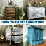 How to Paint Furniture – A Beginners Guide