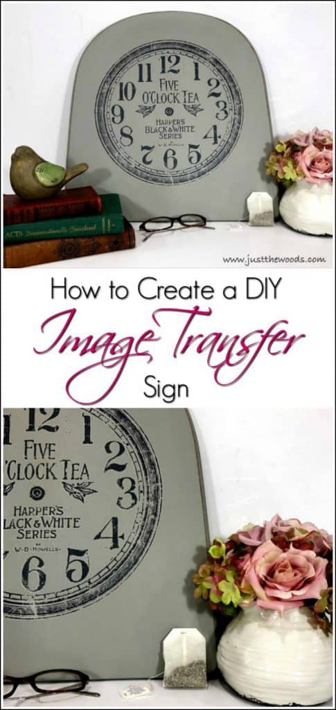 How to Create a DIY Image Transfer Sign