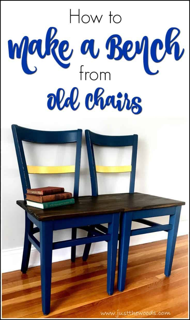 How to Make a Unique Bench from Chairs - Repurpose Project
