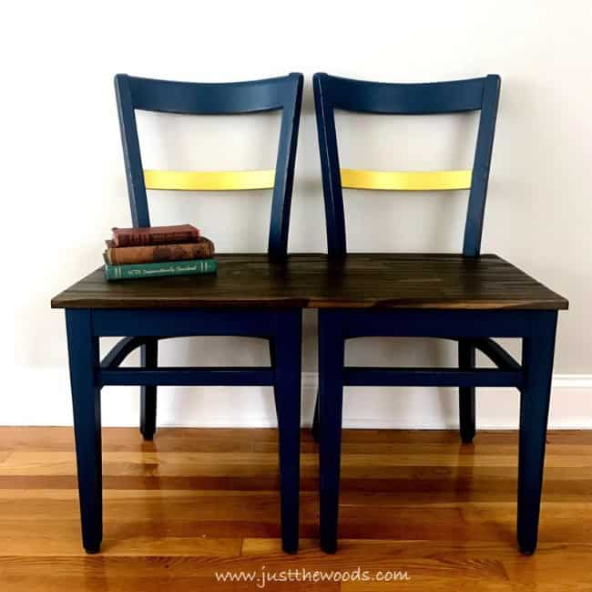 two wooden chairs to make a bench, how to make a bench from old chairs, diy wooden bench