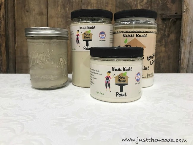 chalk paint, non toxic paint, pure home paint, white chalk paint
